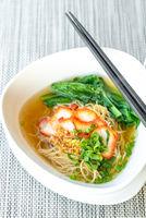 BBQ Pork egg Noodle