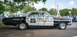 Police car Ford Galaxie 500 Interceptor, 1964.