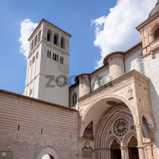 church of Assisi in Italy