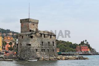 Hafenburg in Rapallo