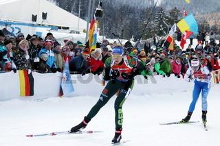 IBU Biathlon Staffel Frauen Ruhpolding 2019