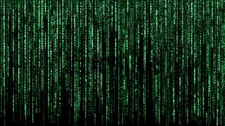 binäre Netzwerk Matrix, Illustration