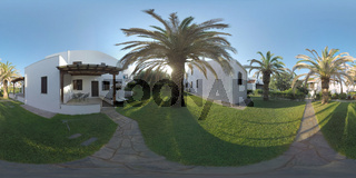 360 VR Cottages for rent at Trikorfo Beach apartment hotel, Greece