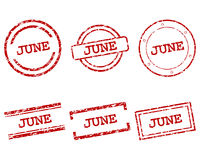 June Stempel - June stamps