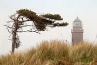 Lighthouse 002. Fischland Darss Zingst. Germany