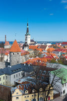 Tallin iconic view