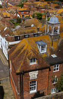 yellow rooftops - I - Rye - UK