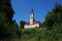 pilgrimage church birnau at lake constance, Germany