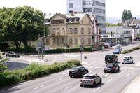 Traffic on the Hessenring Bad Homburg
