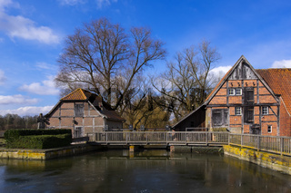 Fürstbischöfliche Kornwassermühle zu Nienborg.