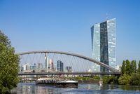 Skyline of Frankfurt with ECB