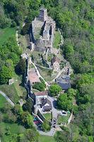 Roetteln Castle in Loerrach
