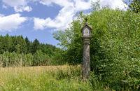 old stony piety column