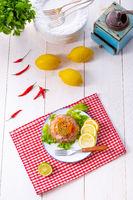 tasty aspic with pork knuckle and pork legs