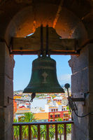 Bell of De la Concepcion church in La Laguna