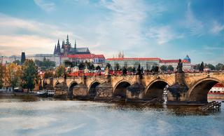 Ancient landmarks of Prague