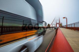 Golden Gate Motion blur effect