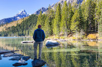 Hike in Grand Teton