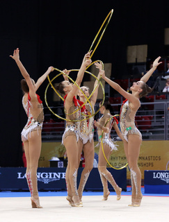 Team Russian Federation Rhythmic Gymnastics