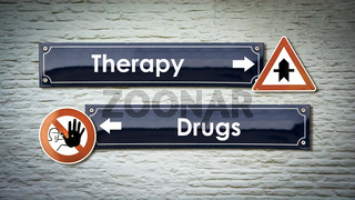 Street Sign Therapy versus Drugs