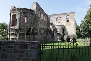 Abbey ruins in Bad Hersfeld