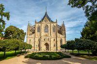 Saint Barbara's Cathedral, Kutna Hora, Czech Republic