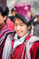Woman in Ladakh