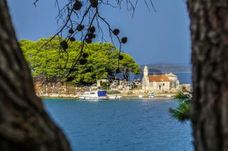 Wunderschöne Küste in Kroatien