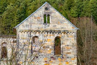 Monastery ruins in Paulinzella in Thuringia