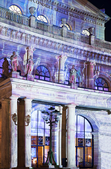 Hanover lights up, State Opera