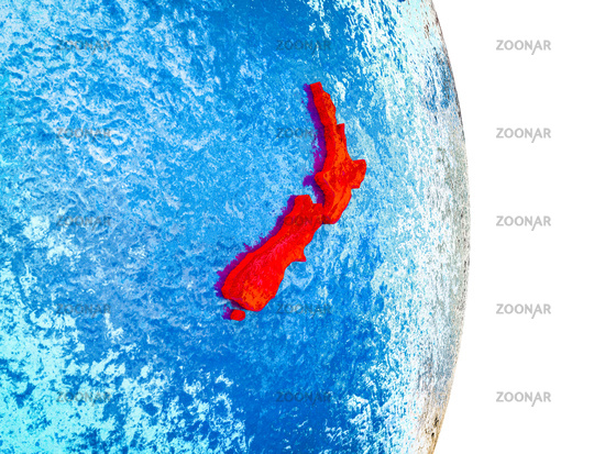 3d Map Of New Zealand.Photo Map Of New Zealand On 3d Earth Image 12776458