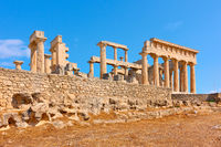 Ancient greek temple of Aphaea