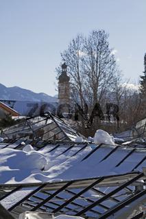 Zerstörung im Katastrophenwinter 2019