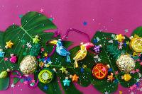 Colorful Christmas motive