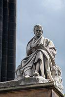 Statue of Author Sir Walter Scott Princes Street Edinburgh
