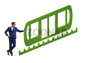 Green environmentally friendly vehicle concept