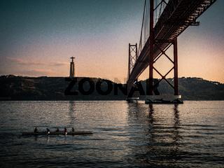 Ponte 25 de Abril bridge, Lisbon