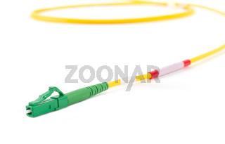 fiber optic single mode hybrid patch cord