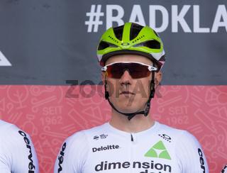 ESCHBORN, GERMANY - MAY 1st 2018: Serge Pauwels at Eschborn-Frankfurt cycling race