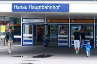 Entrance Hanau Central Station