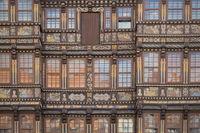 Hildesheim - Renaissance facade, Wedekind House, Germany