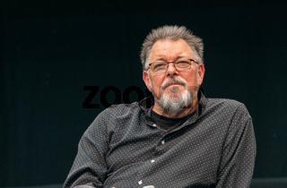 STUTTGART, GERMANY - JUN 29th 2019: Jonathan Frakes at Comic Con Germany Stuttgart