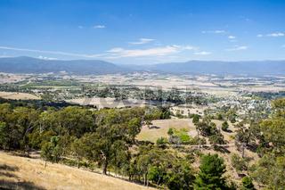 View over Yarra Glen
