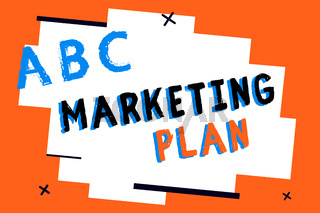Text sign showing Marketing Plan. Conceptual photo Comprehensive document of business activities and advertising
