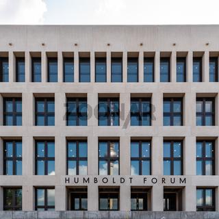 View of the Humboldt Forum museum in Berlin