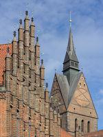 Hannover - Altes Rathaus und Marktkirche, Deutschland