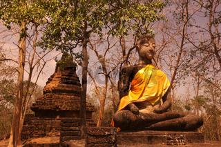 ASIA THAILAND SUKHOTHAI WAT KHAP PHANOM PHLOENG