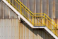 warehouse wall