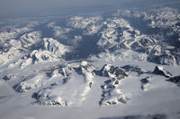 Greenland, aerial view