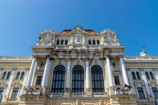 Oradea City Hall building, Crisana Region, Romania